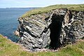 St Endellion, cave by Main Head, Port Gaverne - geograph.org.uk - 850841.jpg