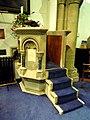 St Katharines Ickleford Pulpit.JPG