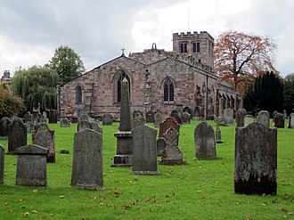 St Lawrence's Church, Appleby - St Lawrence's Church, Appleby, from the east