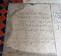 St Mary, North Stoke, Sussex - Ledger slab - geograph.org.uk - 1652590.jpg