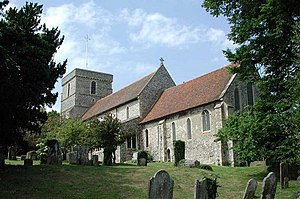 Church of St Mary the Virgin, Eastry, Kent