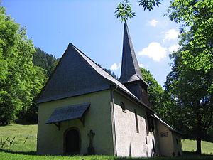 St. Oswald's Chapel (Höllental) - St. Oswald's Chapel