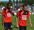 Stade rennais vs USM Alger, July 16th 2016 - Sylla Hunou 2.jpg
