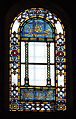 Stained glass window in Hagia Sophia, Istanbul.jpg