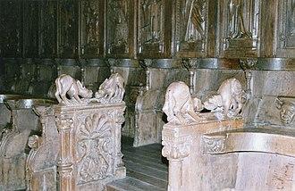 Bourg-en-Bresse Cathedral - Choir stalls