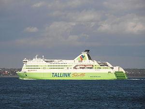 Star departing Port of Tallinn 18 May 2012.JPG