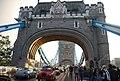 Starting to cross Tower Bridge - geograph.org.uk - 2246838.jpg