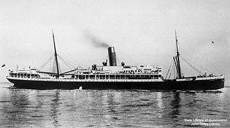 Ellerman Lines - Image: State Lib Qld 1 126207 Calypso (ship)