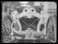 Statsvagn av karosstyp kallad Burmannia, tillverkad i Frankrike under 1700-talets första år - Livrustkammaren - 2602.tif