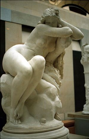 Eugène Delaplanche - Eve After the Fall 1869, Musée d'Orsay