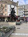 Statue de Désiré Bancel en janvier 2021.jpg