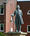 Statue of James Brindley, Etruria Junction, Stoke-on-Trent - geograph.org.uk - 1479583.jpg