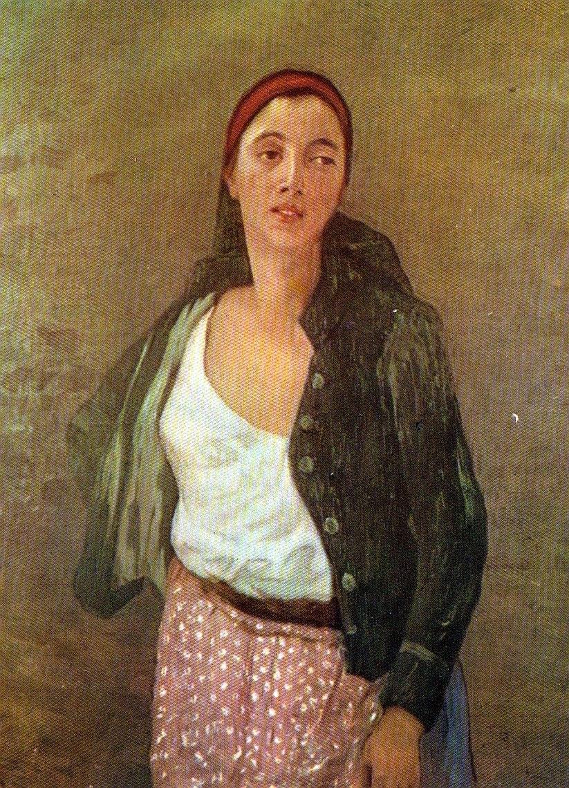Stefan Luchian - Safta Florareasa (1895)