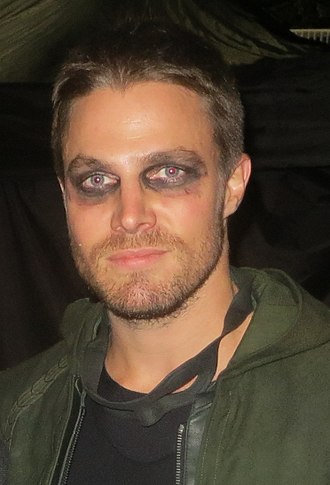 Stephen Amell - Amell on the set of Arrow in September 2014