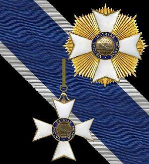 Order of Rio Branco - Image: Ster en grootkruis in de Braziliaanse Orde van Rio Branco