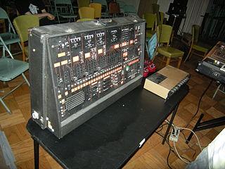 ARP 2600 analog semi-modular synthesizer