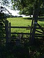 Stile at Thorpe Farm, Skendleby - geograph.org.uk - 554383.jpg