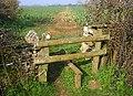 Stile near Alvescot - geograph.org.uk - 381167.jpg