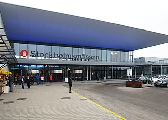 Stockholm International Fairs - Image: Stockholmsmässan entre 2015a