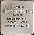 Stolperstein Albert Italiander.jpg