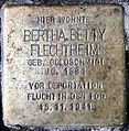 Stolperstein Düsseldorfer Str 44 (Wilmd) Bertha Betty Flechtheim.jpg