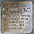 Stolperstein Dr Moritz Baer by 2eight 3SC1366.jpg