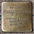 Stolperstein Hobrechtstr 57 (Neuk) Johanna Schäffer.jpg