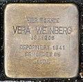 Stolperstein Remscheid Alleestraße 56 Vera Weinberg.jpg