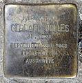 Stolperstein Sanderstr 20 (Neuk) Gerhard Jolles.jpg
