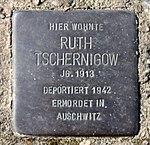 Stolperstein Strausberger Platz 8 (Frhai) Ruth Tschernigow.jpg