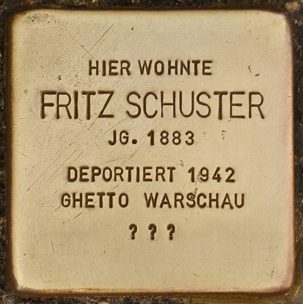 Stolperstein für Fritz Schuster (Bernau).jpg