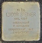 Stolperstein für Izidor Steiner (Prievidza).jpg