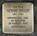 Stolperstein für Sidonie Braun.JPG