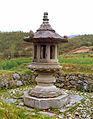 Stone lanterns at Gaeseonsa temple site in Damyang, Korea.jpg