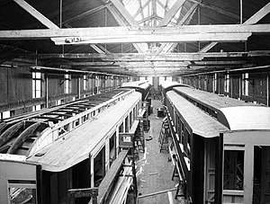 Wincentz Thurmann Ihlen - Manufacturing train cars in 1924