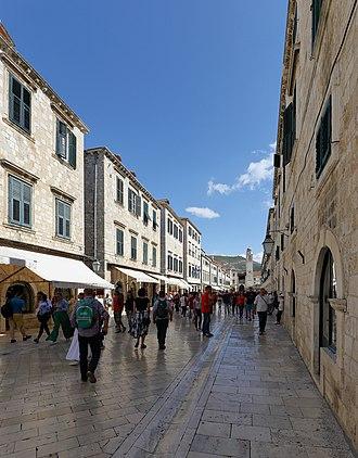 Stradun (street) - Image: Stradun, Dubrovnik September 2017