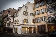 Obernai Hotel Restaurant Cheminee Faience