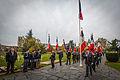 Strasbourg nécropole nationale de Cronenbourg cérémonie 1er novembre 2013 27.jpg