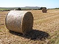 Straw bales south of Carnelloe Farm - geograph.org.uk - 230696.jpg