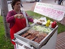 Metropolitan Hot Dog Vendor Ahmed Mohammed