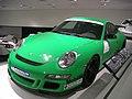 Stuttgart Jul 2012 72 (Porsche Museum - 2007 Porsche 911 GT3 RS).JPG