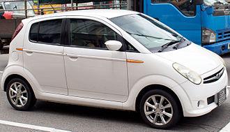Subaru R2 - Image: Subaru R2, facelift, front view