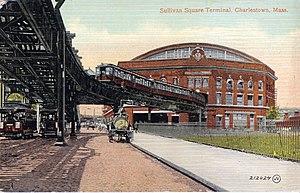 Sullivan Square (Boston) - Sullivan Square Station. 1900