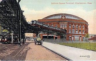 Sullivan Square - Sullivan Square Station. 1900