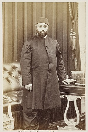 Abdülaziz - Sultan Abdülaziz during his visit to the United Kingdom in 1867
