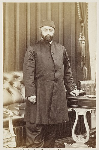 Abdülaziz - Sultan Abdülaziz during his visit to the United Kingdom in 1867