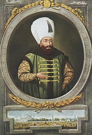 Ahmed I - Image: Sultan I. Ahmet