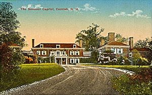 Harlakenden - Image: Summer Capitol, Cornish, NH