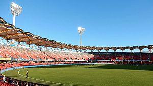 2017 AFL Women's Grand Final - Image: Sunny Carrara Stadium (cropped)