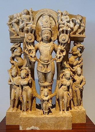 Karna - Surya, father of Karna, is the Hindu Sun god.
